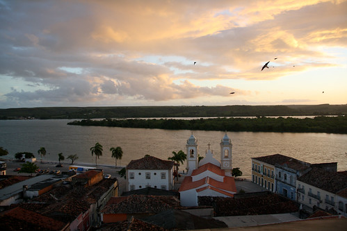 sunset rio night francisco cloudy sao penedo alagoas