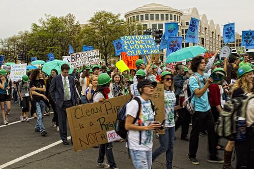 EPA protest march on Capitol Hill, Washington D.C. April, 2011 | by Chris Richards1