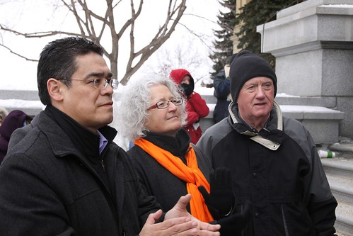 Three Edmonton NDP candidates | by dave.cournoyer