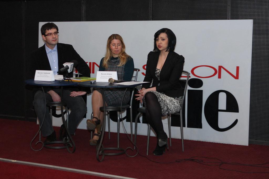 Konferencja prasowa - Kino Charlie œwiętuje 122 urodziny Charliego Chaplina, 24.03.2011