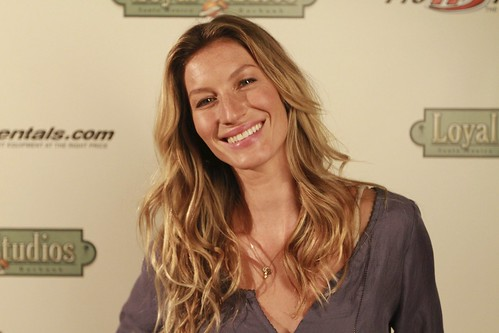 Supermodel Gisele for The United Nations Environment Program | by Bob Bekian