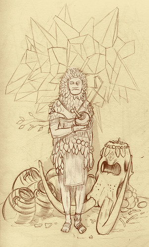 Organic Shaman – Sketch a Day 10 | by ScottDonald