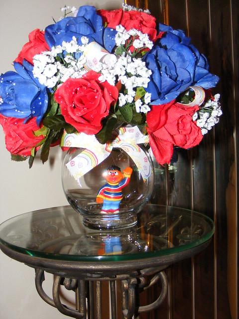 Ernie Floral Centerpiece