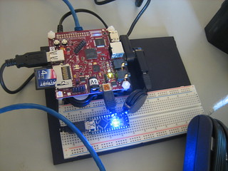 beagleboard and arduino