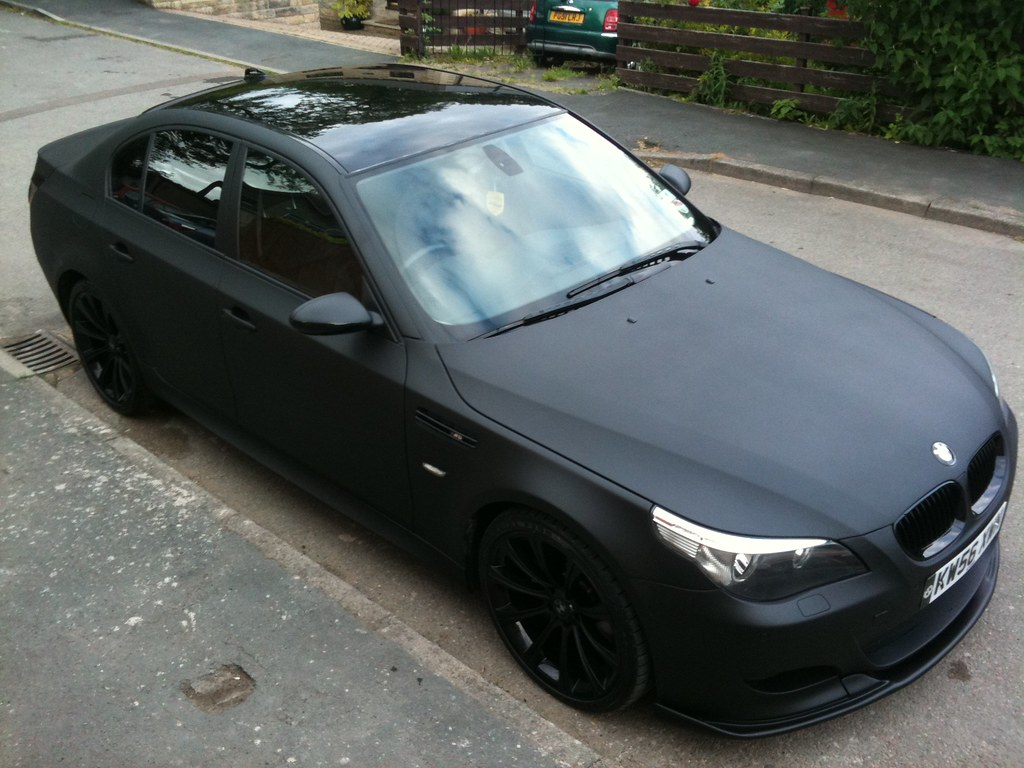 Matte Black Bmw >> Matte Black Bmw E60 M5 Replica Some Pictures From An Iphon Flickr
