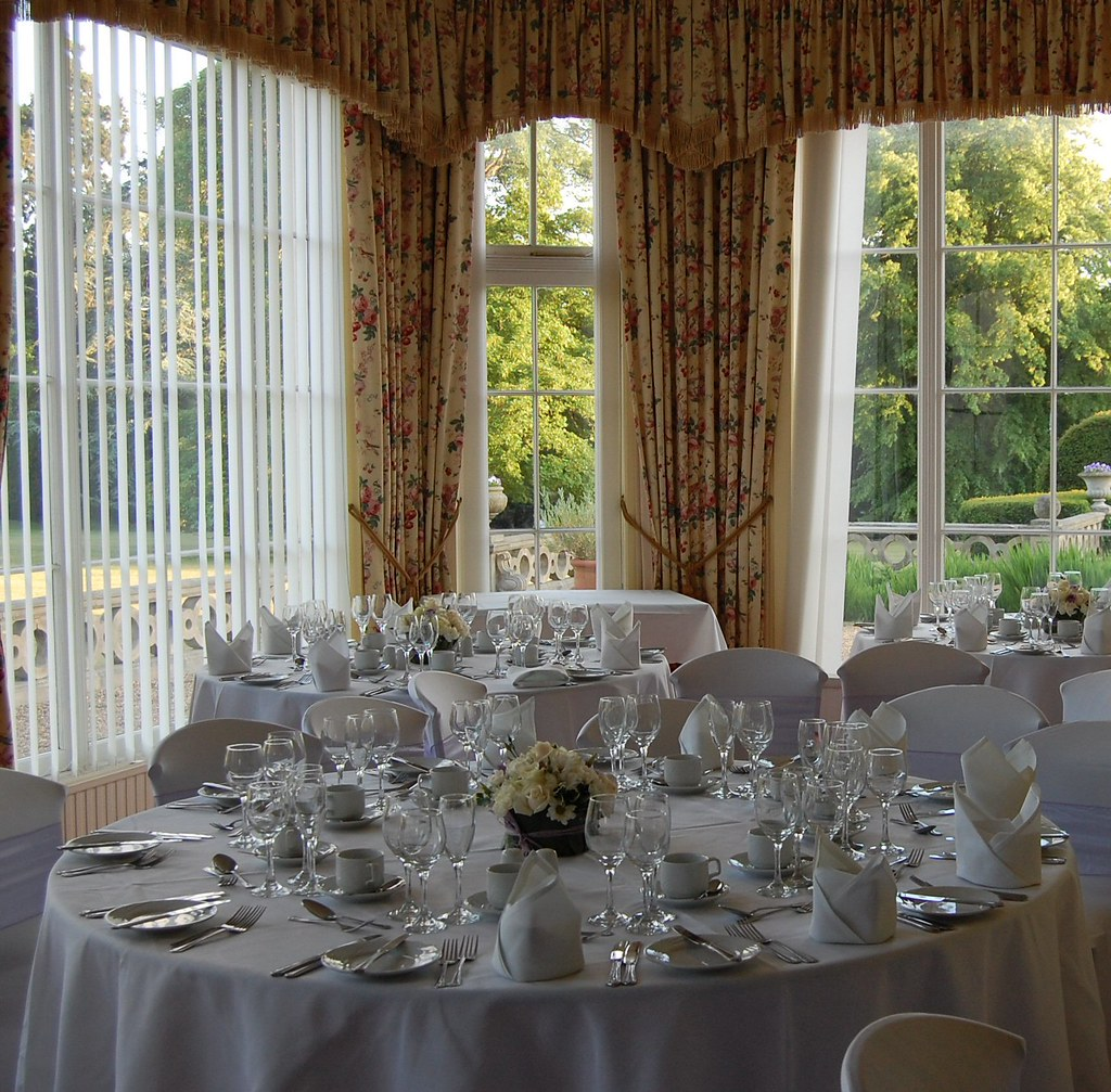 Reception Room Before The Ceremony