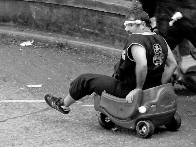 Bring Your Own Big Wheel 2008: ninjakart