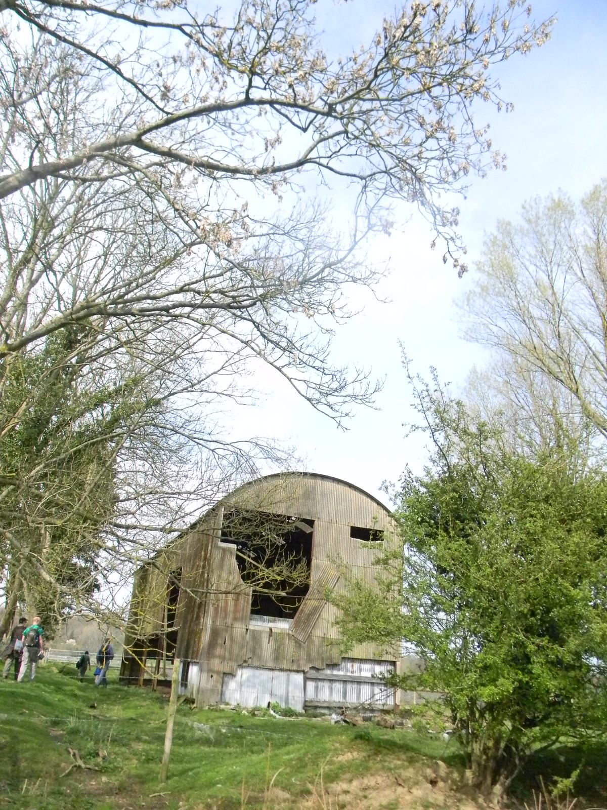 Ugly barn Robertsbridge circular (short)