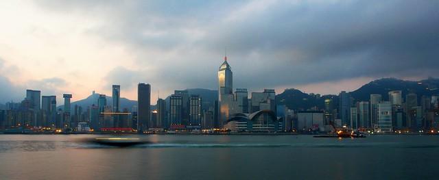 Hong Kong - Wanchai Skyline