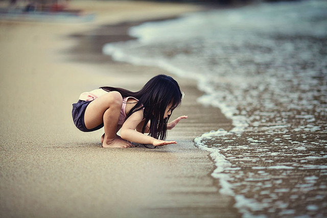 kid and the sea