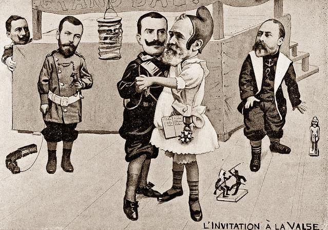 L'Inviatation a la Vlase - Postal Card ca 1901