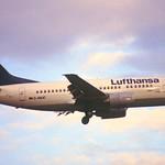 6ab - Lufthansa Boeing 737-500; D-ABJC@ZRH;06.01.1998