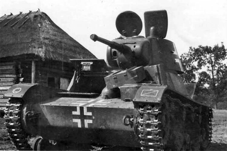 Т-26 в експлоатация в панцерваффе