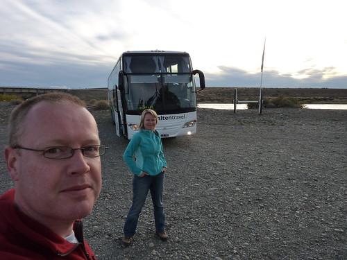 Bus 1 - El Chalten - El Calafate