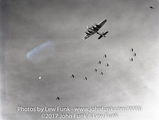 B17s on Mission to Ludwigshafen Germany on 5 Nov 1944 | by John Funk from Golden Colorado