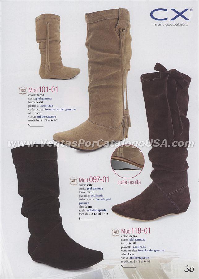 1d8c1090 ... Botas de moda invierno 2011 por catalogo shoes zapatos negocios unidos  ropa calzado por trabajo en