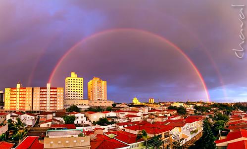 brazil sky panorama rain weather brasil clouds canon landscape geotagged landscapes rainbow cityscape saopaulo stitch sãopaulo horizon panoramic explore polarizer venue campinas sigma1770 canoneos40d foursquare:venue=4ea350497ee52a35dd498405