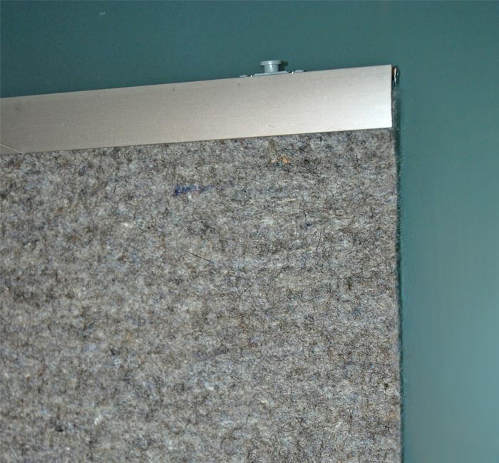 Filz Vorhang Akustikvorhang Flachenvorhang Wollfilz