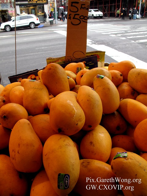 5 big mangos for US$5, I got many.. & tips to best dim sum restaurant for the local NYC Chinese.. IMG_4982