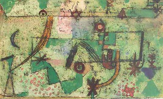 Im Bachschen Stil, Paul Klee, 1919