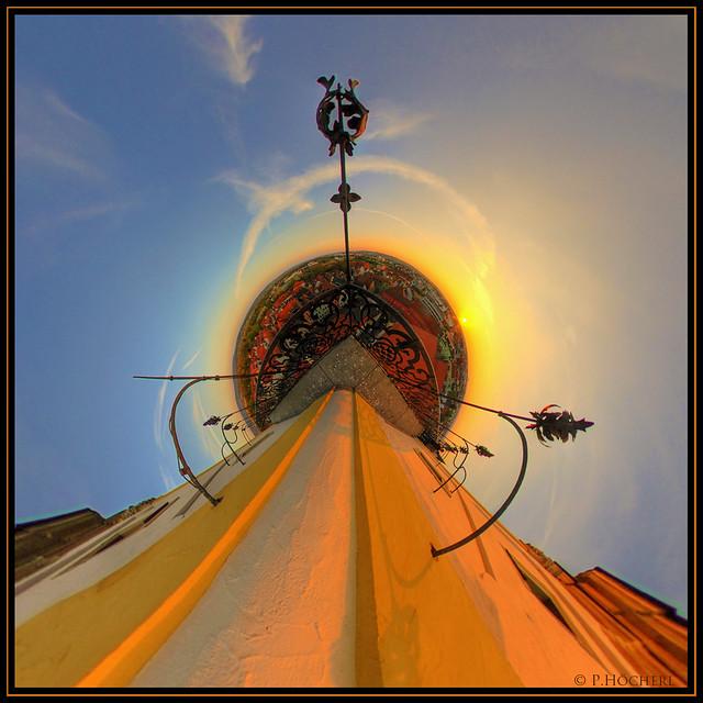 Am Kirchturm von StMichael Weiden - LittlePlanet 1