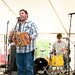 Ryan Brunet and Les Malfacteurs at Louisiana Folk Roots Heritage Festival, Chicot State Park, April 16, 2011