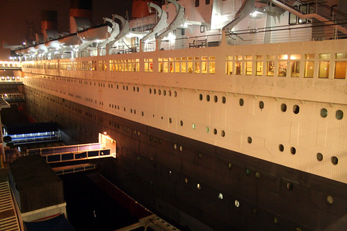 Queen Mary - Gangplanks at Night | by Miss Shari