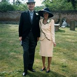 Clifford and Ann Patricia Griffiths at her daughter Deborah's wedding 29 Aug 1993