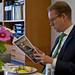 Företagsbesök med migrationsminister Tobias Billström
