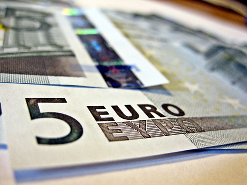 5 Euro notes   by Images_of_Money