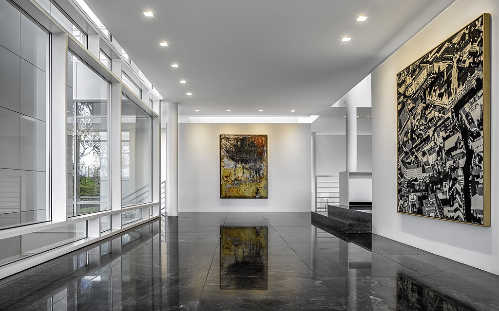 The Rachofsky House - Second Floor North   Mabry Campbell Ph ... on