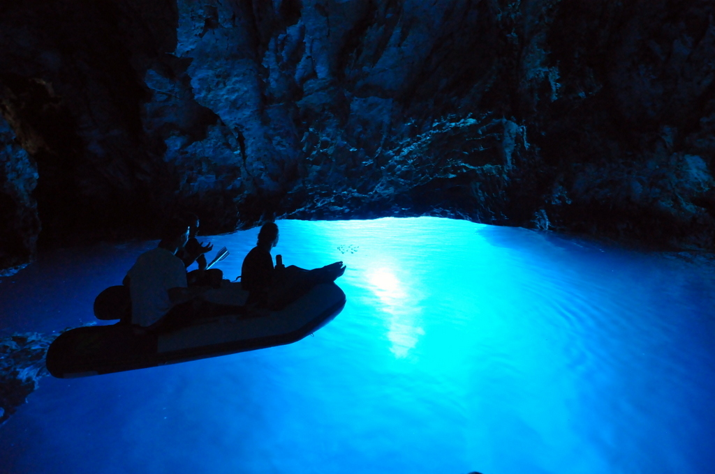 Blue Cave in Bisevo Island