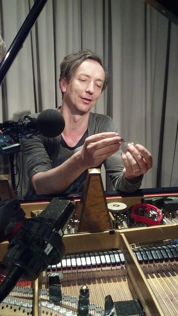 Hauschka live on Soundcheck 2015-06-30