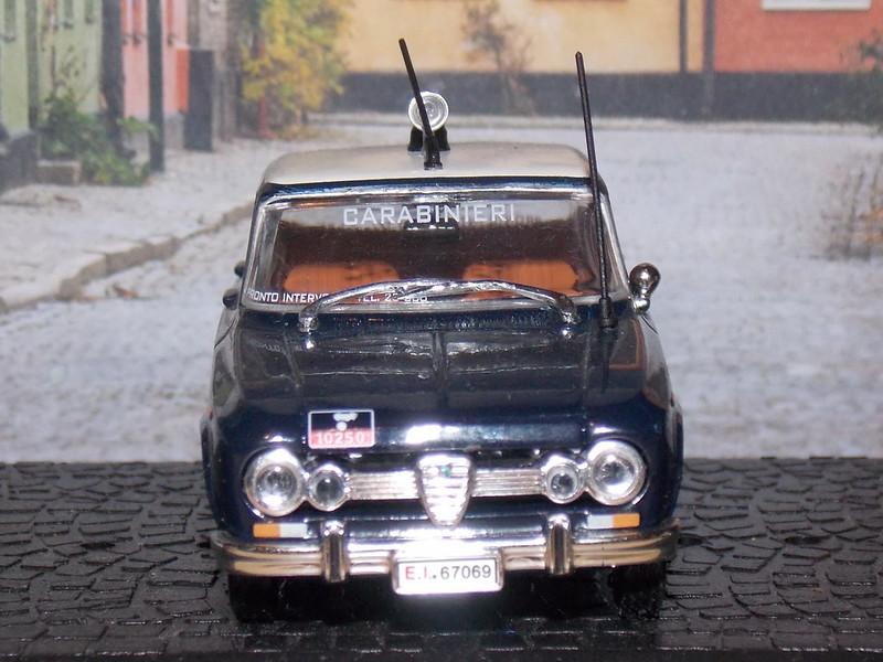 Alfa Romeo Giulia 1600 Super - Carabinieri - 1970