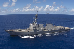 USS Chafee (DDG 90) file photo. (U.S. Navy/MC2 Clemente A. Lynch)