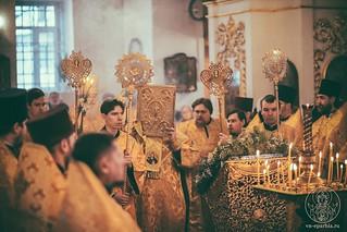 Литургия в Покровском соборе 138