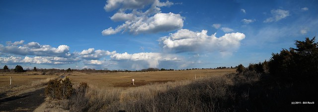 Hammonasset clouds in April