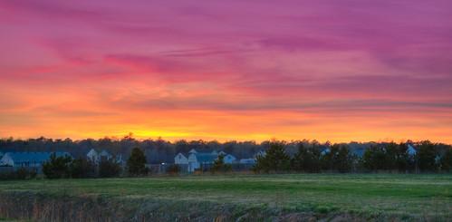 sunset cloudy northcarolina cloudsstormssunsetssunrises