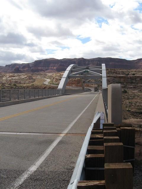 Bridge Over Colorado River at Hite, Utah
