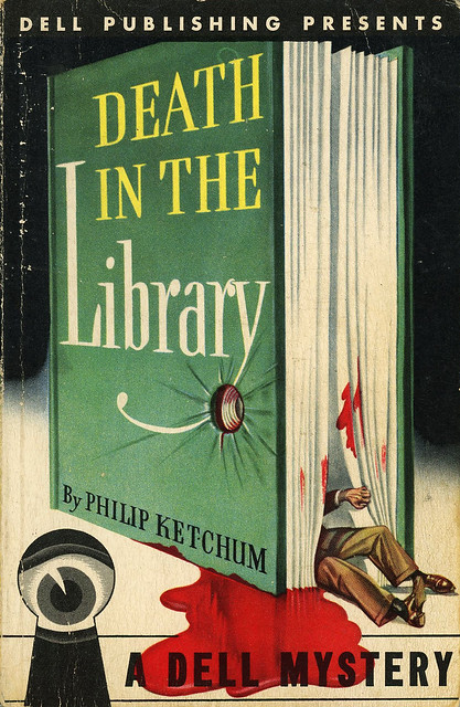 Dell Books 1 - Philip Ketchum - Death in the Library