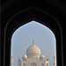 Taj Mahal through the Front Arch