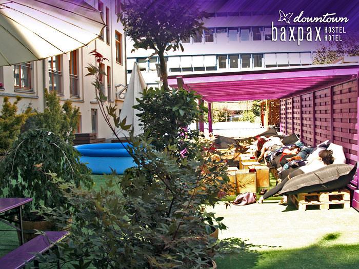 baxpax downtown Hostel Hotel Berlin - garden | Baxpax Hostel ...
