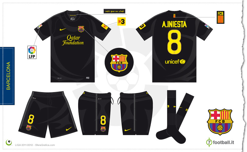 brand new a88f0 17763 Barcelona away kit 2011/2012 | Sergio Scala | Flickr