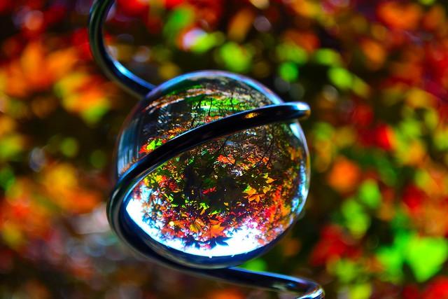 Crystal ball view