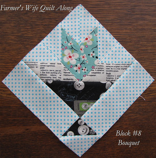 Farmer's Wife Quilt Along Block 8 | by Charise *