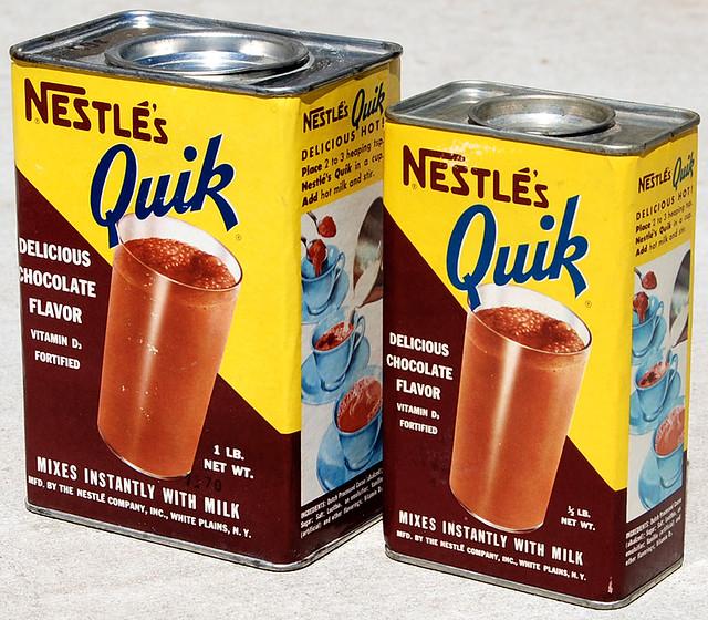 Nestle's Quik, 1950's
