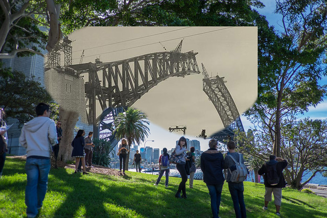 #flickr10photowalk Sydney: 1931/2014 blend