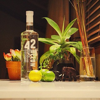 Wanderers loss cure + fresh limes from this mornings effort #vodka | by ukalipt
