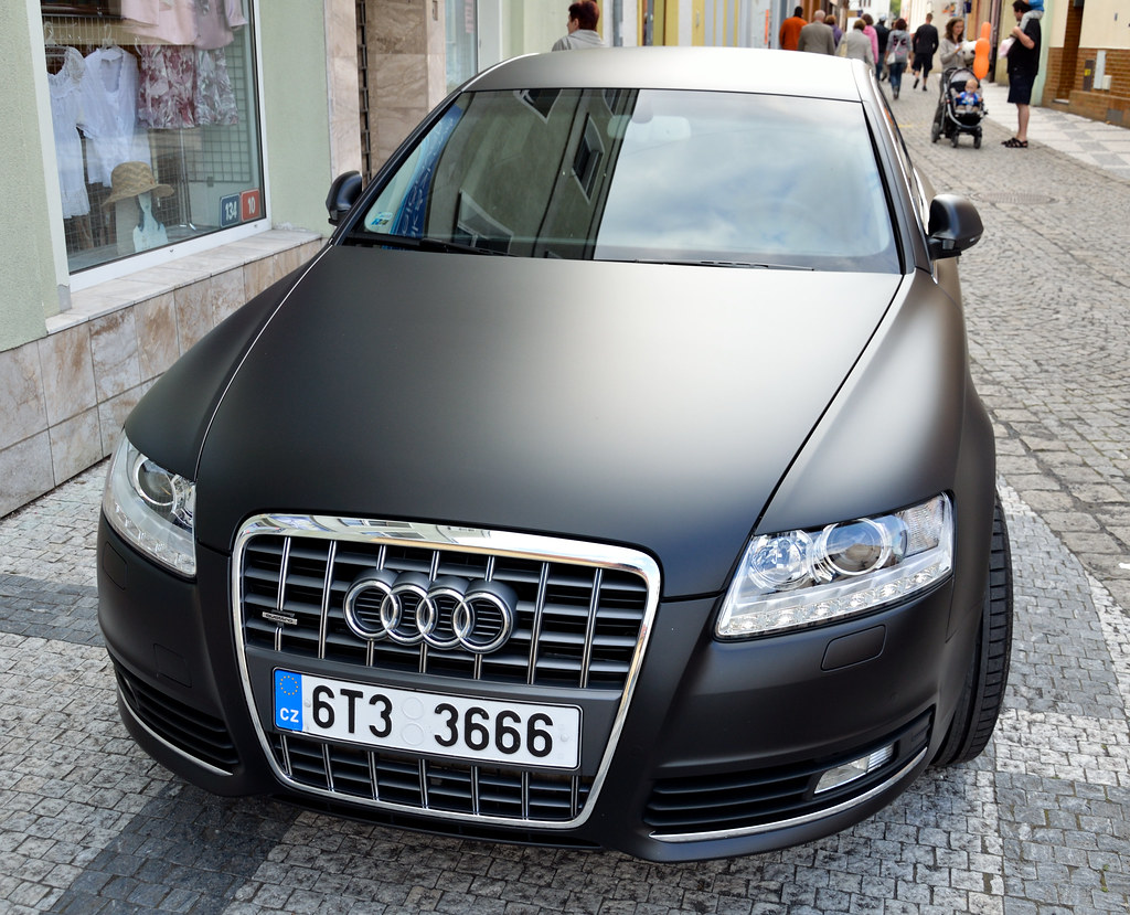 Audi A6 Quattro In Matte Black Thomas T Flickr