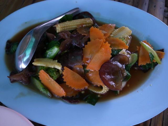 <p>ローカル野菜のソテー</p>
